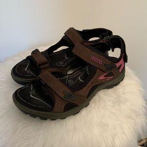 Ecco Sport Sandals Size 39/ US womens 8/8.5